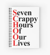 School acrostic Spiral Notebook