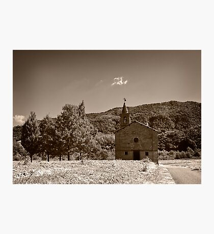 Lonely Church Photographic Print