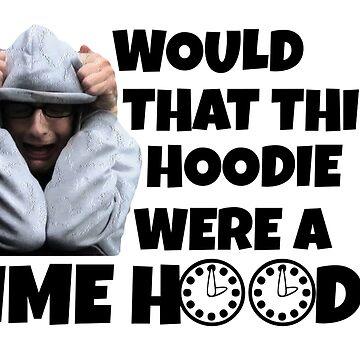 Time Hoodie by politedemon