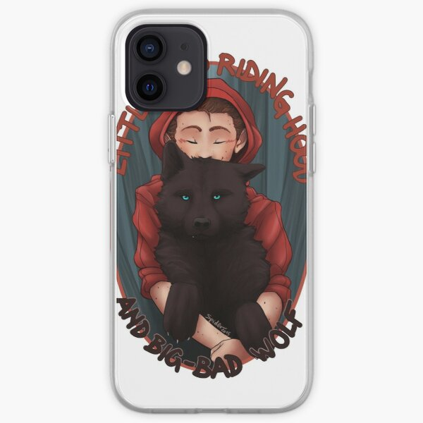 Little Red and BigBad Wolf iPhone Soft Case
