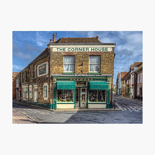The Corner House Photographic Print