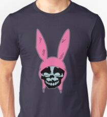Grey Rabbit/Pink Ears Unisex T-Shirt