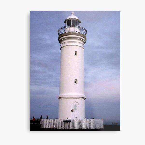 Kiama Lighthouse at Dusk Metal Print