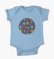 Under the sea Short Sleeve Baby One-Piece
