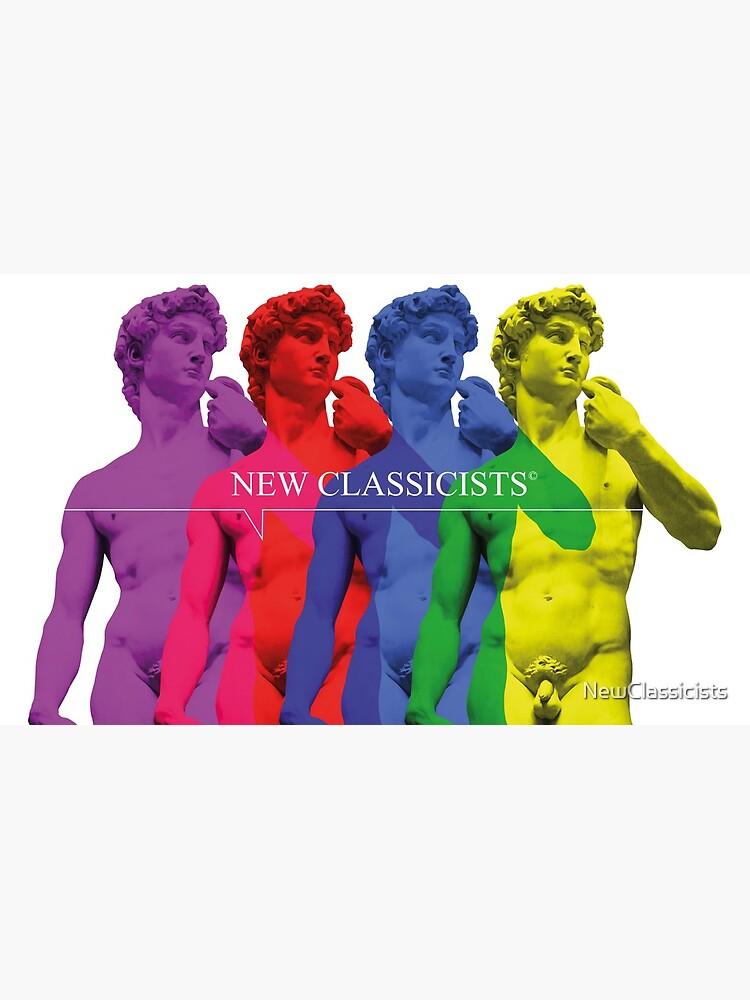 New Classicists - David mug by NewClassicists