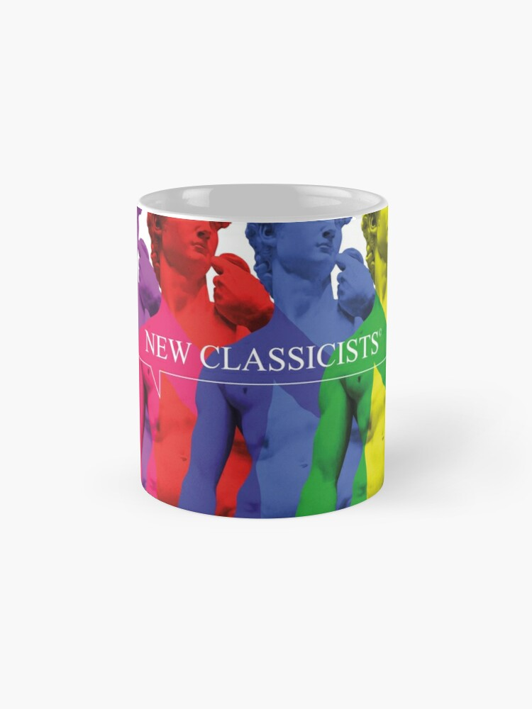 Alternate view of New Classicists - David mug Mug