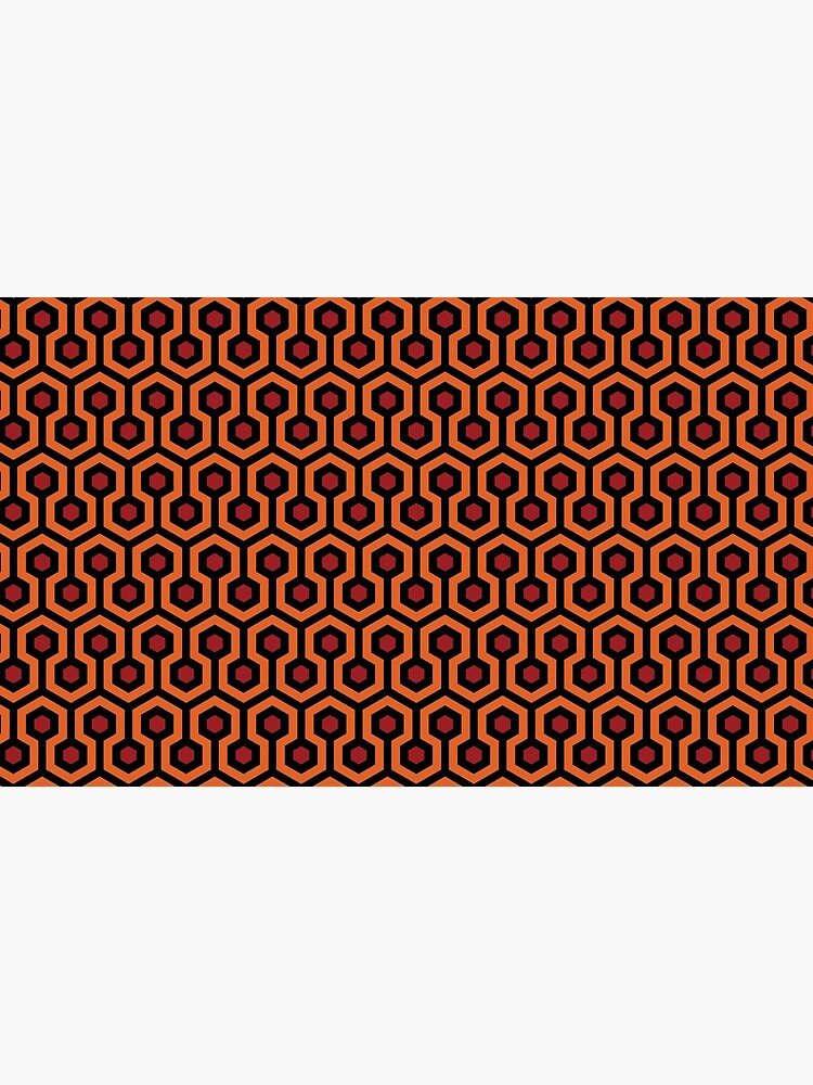 The Shining - Overlook Hotel Carpet by artboy213