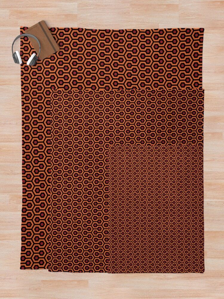 Alternate view of The Shining - Overlook Hotel Carpet Throw Blanket