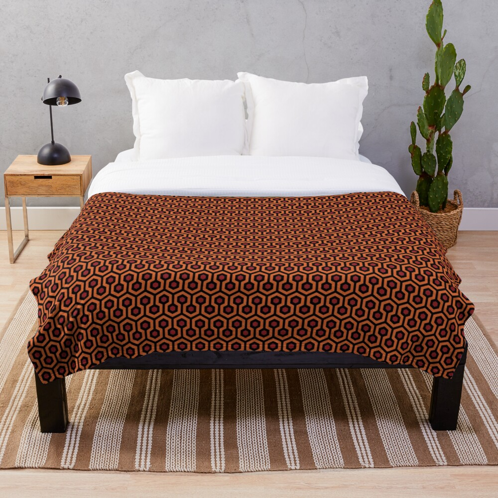 The Shining - Overlook Hotel Carpet Throw Blanket