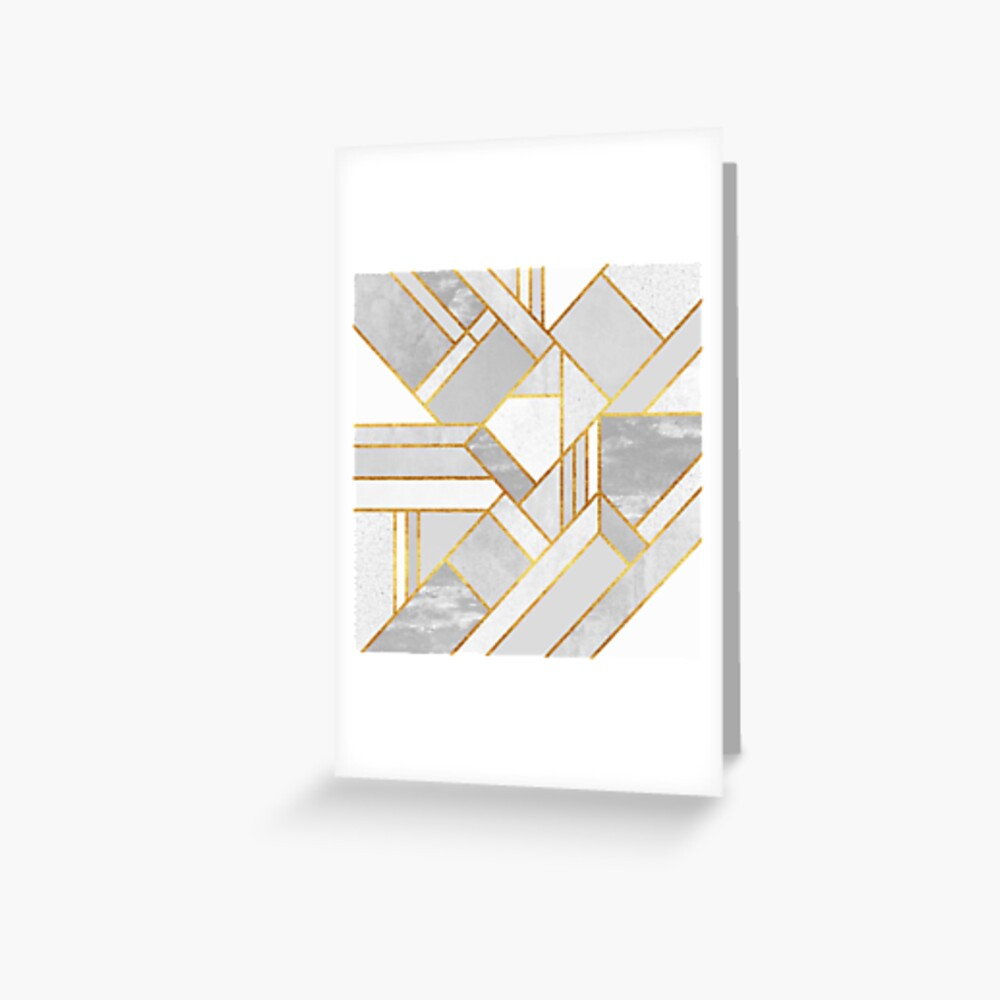 Gold City Greeting Card