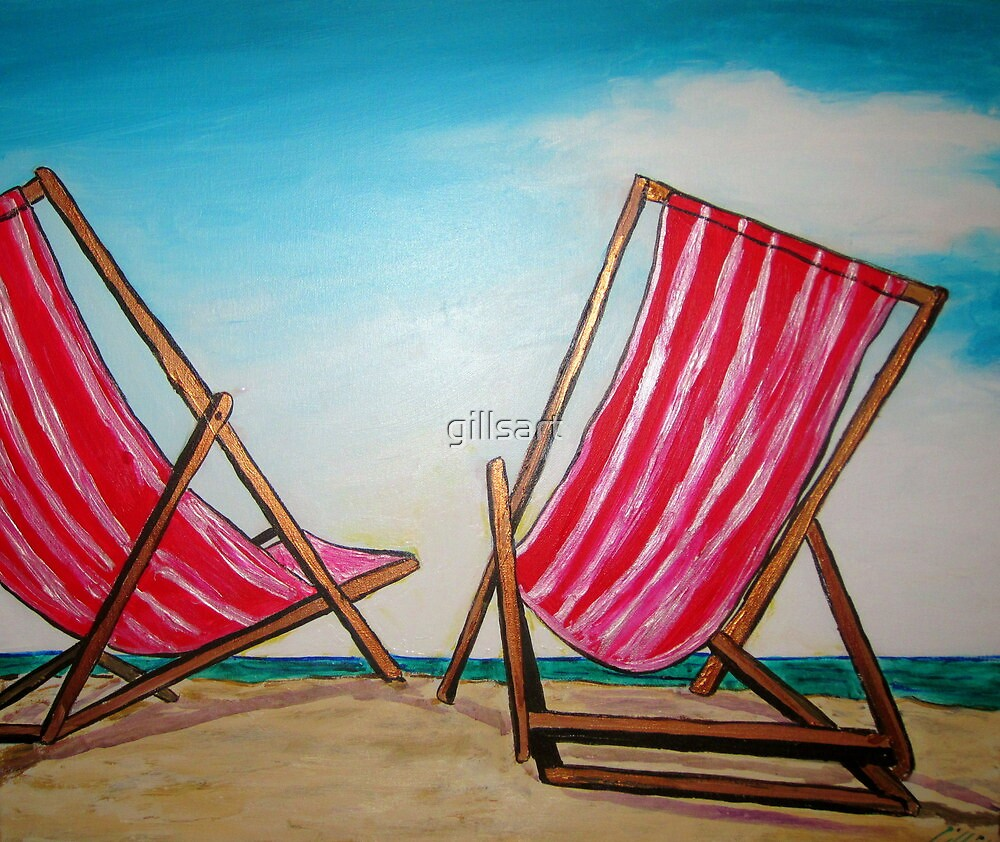 Beach Chairs May '11 by gillsart