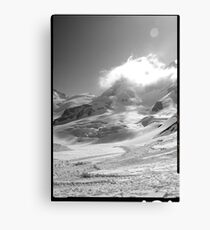 Jungfrau scene swiss alps Canvas Print