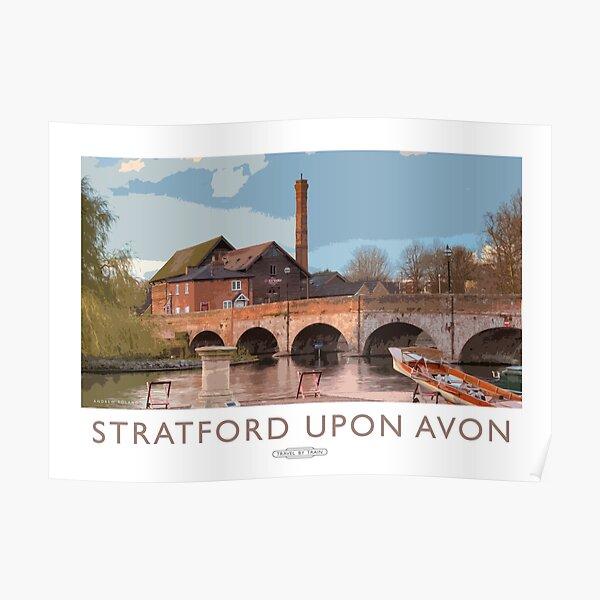Stratford upon Avon Poster