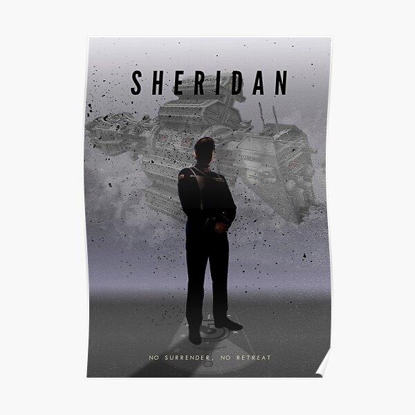 Babylon 5 - Sheridan Poster
