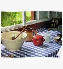 Red Sugar Bowl Poster