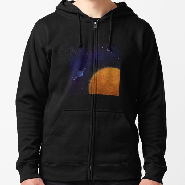 Starscape Zipped Hoodie