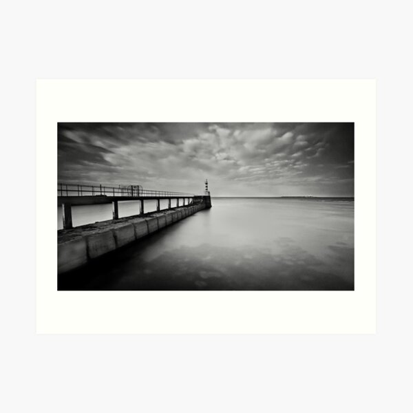 Long Pier Art Print