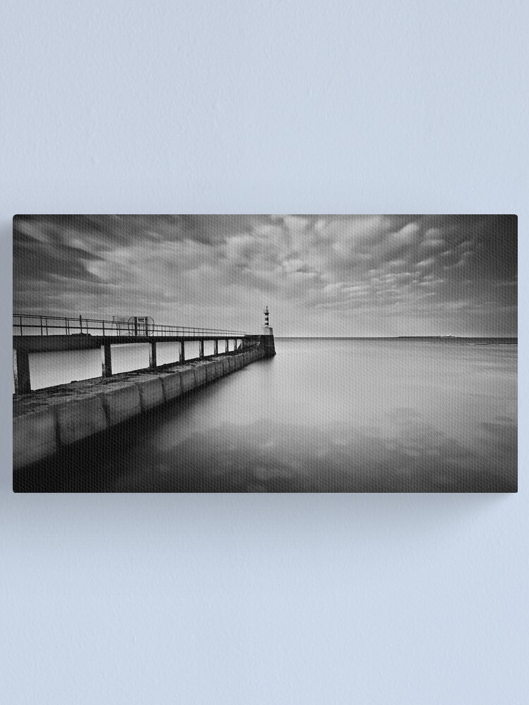 Alternate view of Long Pier Canvas Print