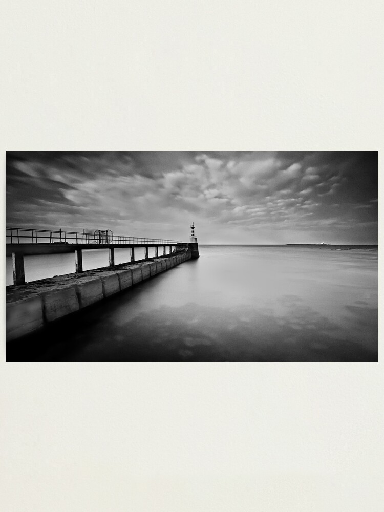 Alternate view of Long Pier Photographic Print