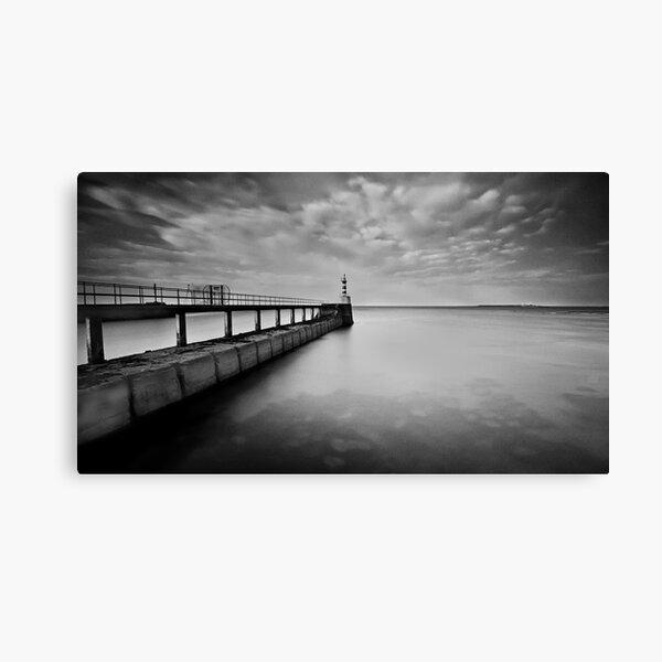 Long Pier Canvas Print