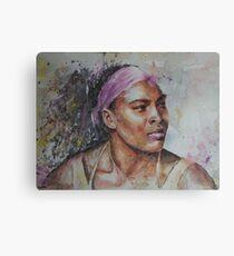Serena Williams - Portrait 6 Canvas Print