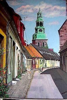 Sweeden street view by Clayt Stahlka