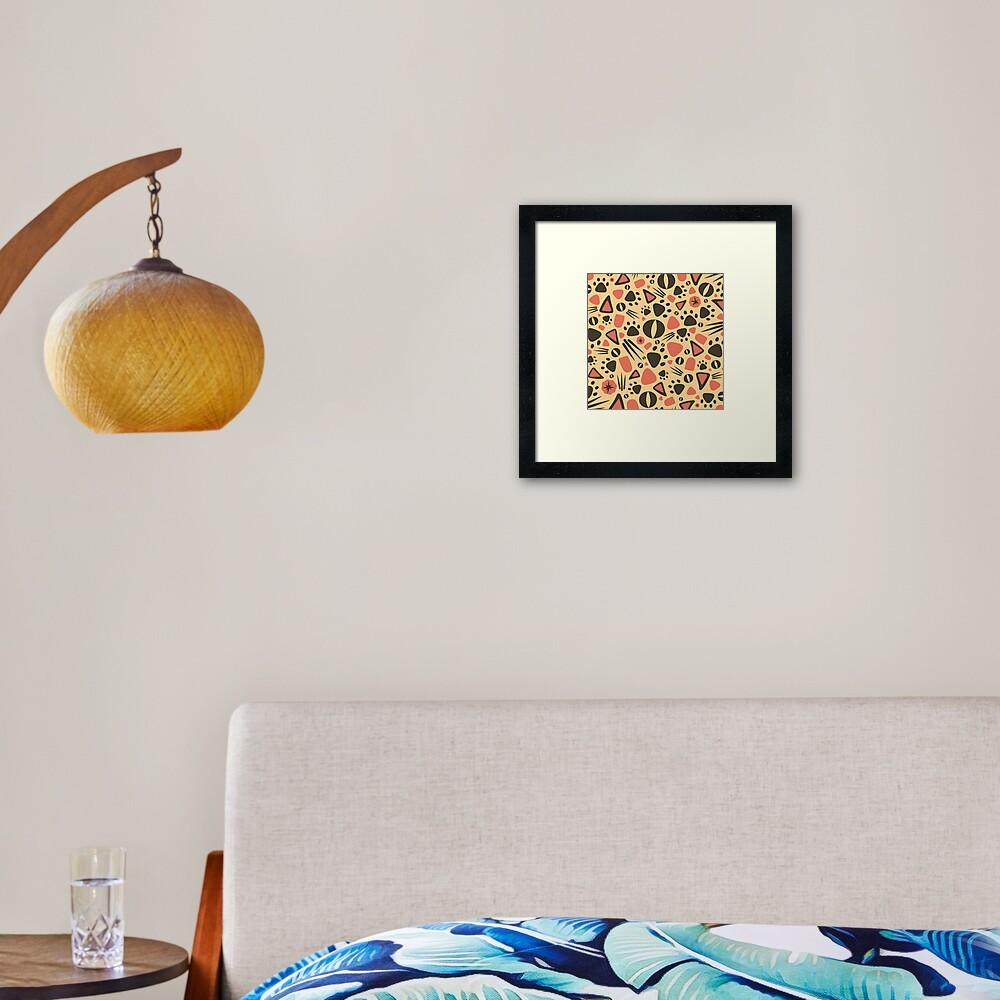 PURRAZZO Framed Art Print