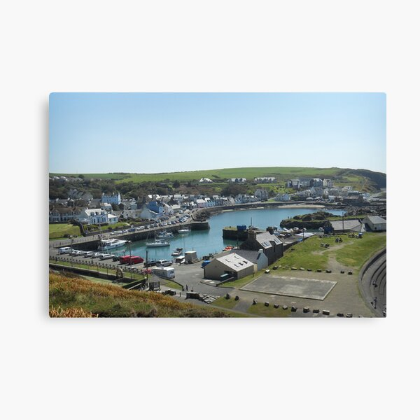 Portpatrick Harbour Canvas Print