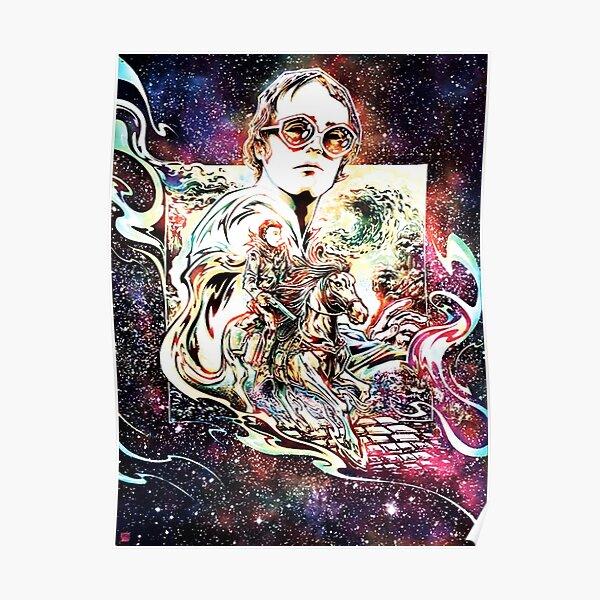 Sir Elton Hercules John dans le mot Tour 2020 Poster