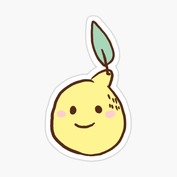 Cavetown lemon boy Sticker