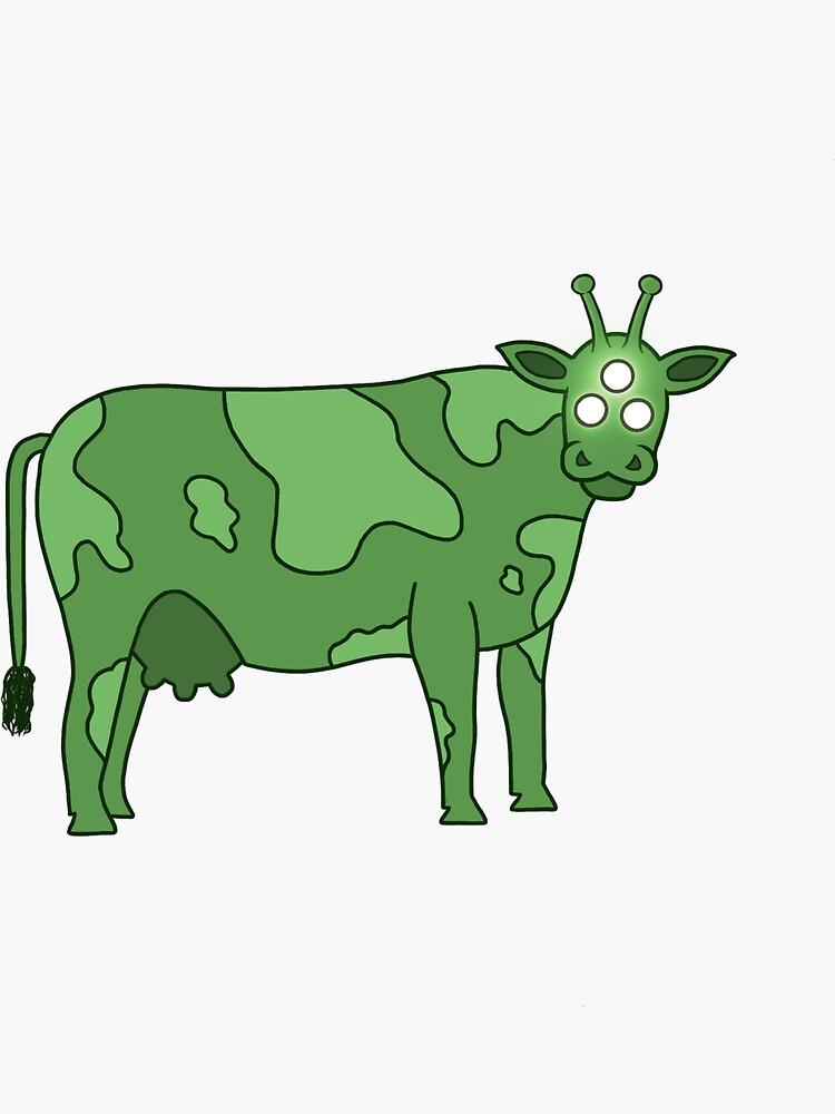 Alien Cow  by cloires