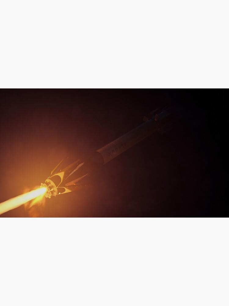 SpaceX Falcon 9 Landing Burn by zlsa