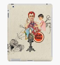 EL DIABLO SE ESCONDE DETRAS DE MIS TIJERAS (The devil hide behind my scissors) iPad Case/Skin