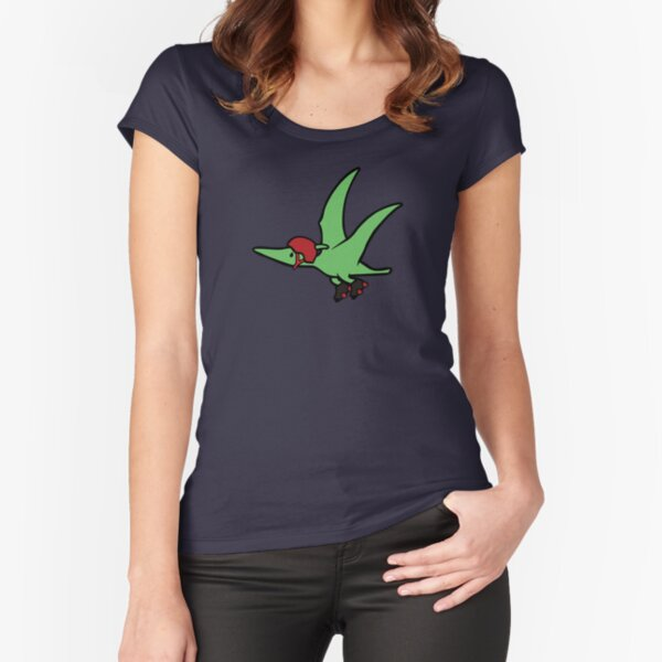 Roller Derby Pterodactyl Fitted Scoop T-Shirt