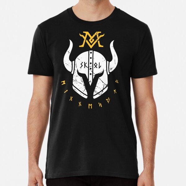 Skol Vikings Helmet Premium T-Shirt