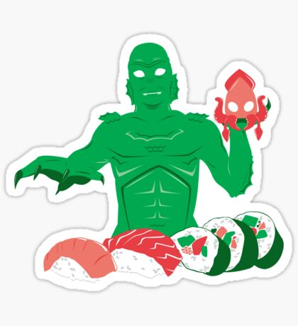 Sushi from the Black Lagoon Sticker
