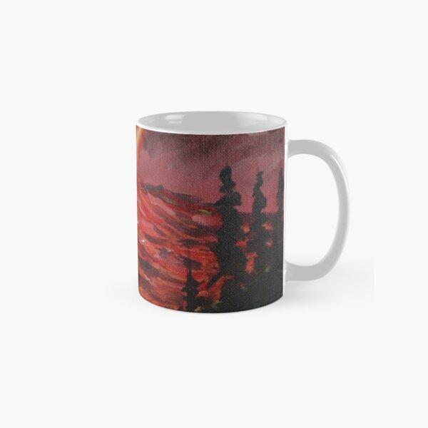 Devil's Horns in Hollywood Classic Mug