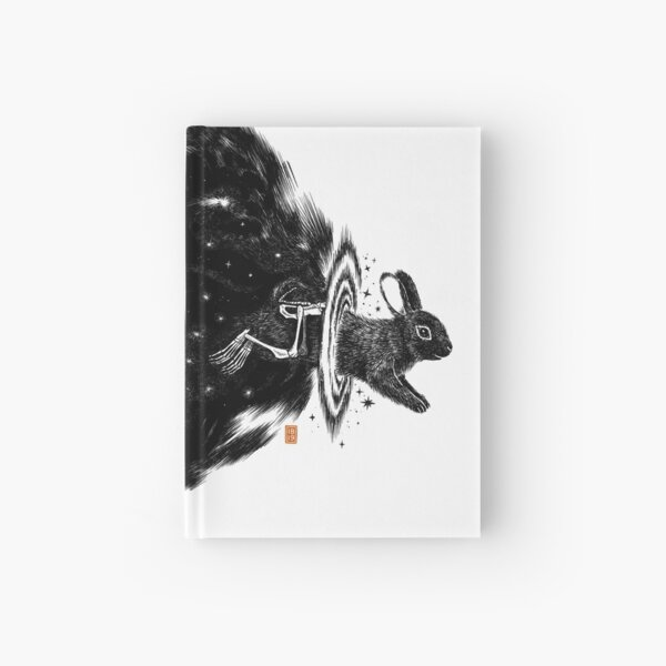 Magic bunny Hardcover Journal