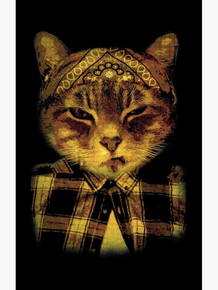 Gangster Katze von discobeast