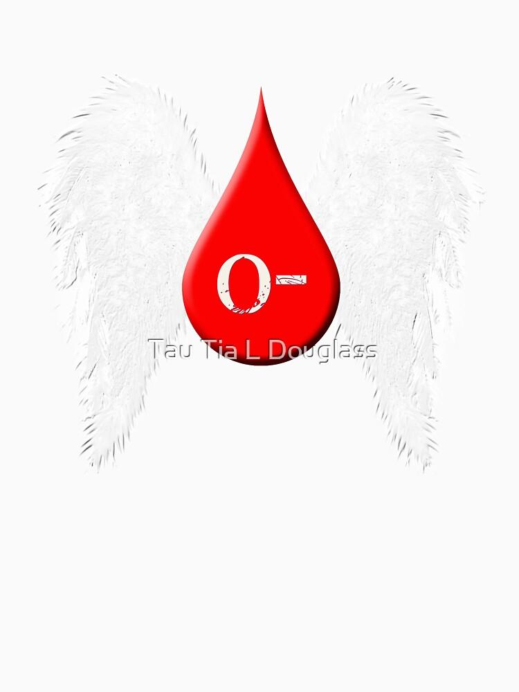 Blood Type O Negative - Angel Wings by PurplePeacock