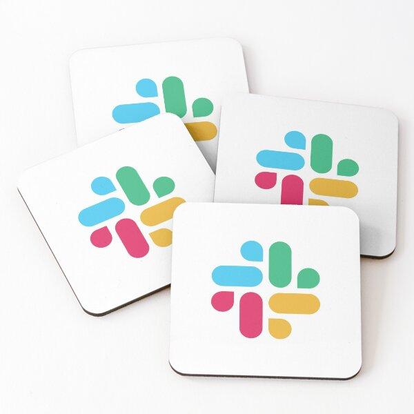 Slack Logotype Coasters (Set of 4)