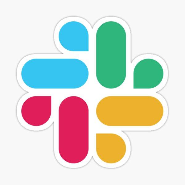 Slack Logotype Sticker