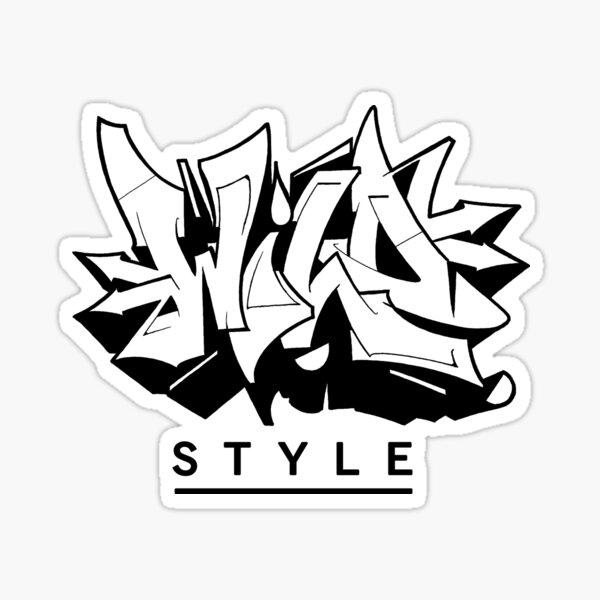 Wild Style  Sticker