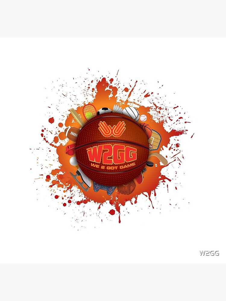 We 2 Got Game basketball by W2GG
