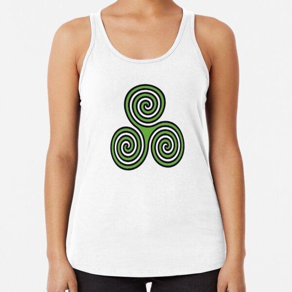 Camiseta para mujer con cuernos dios símbolo Wicca Wicca Pagano signo paganismo magia oculta