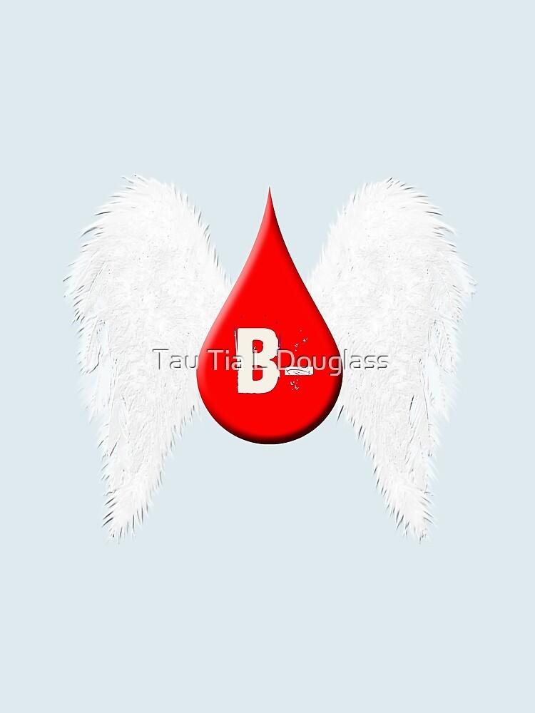 Blood Type B Negative - Angel Wings by PurplePeacock