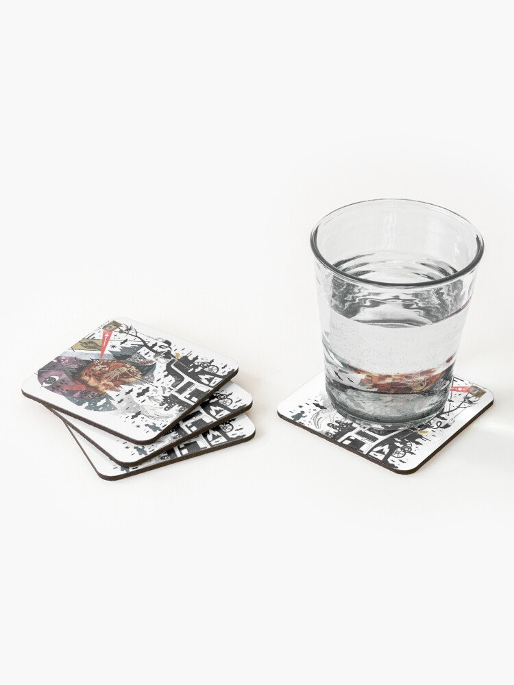 Alternate view of Hail Muse! Coasters (Set of 4)