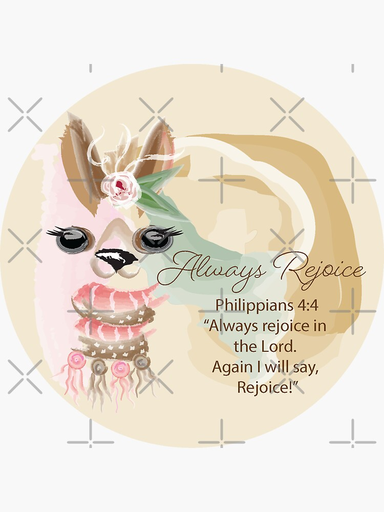 Llama Always Rejoice by CreativeContour