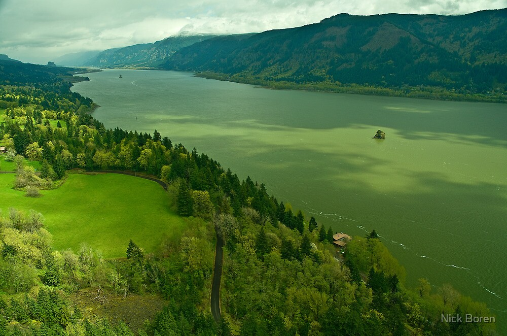 The Mighty Columbia River by Nick Boren