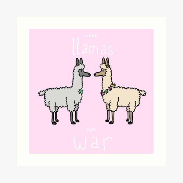 Tarjeta De Regalo De Amistad Pulsera De Alpaca deseo escupir sucede Gracioso Humor llama tarjeta